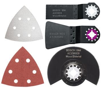 assortiment accessoire outil multifonction bosch 2608661694. Black Bedroom Furniture Sets. Home Design Ideas