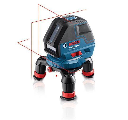 Laser gll3 50 bosch mini tr pied bm1 for Trepied pour laser bosch