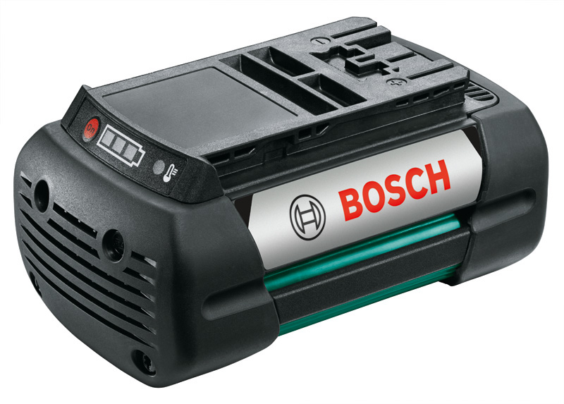 Batterie li ion 36v 4ah outil jardin bosch rotak 43 li for Taille bordure bosch batterie