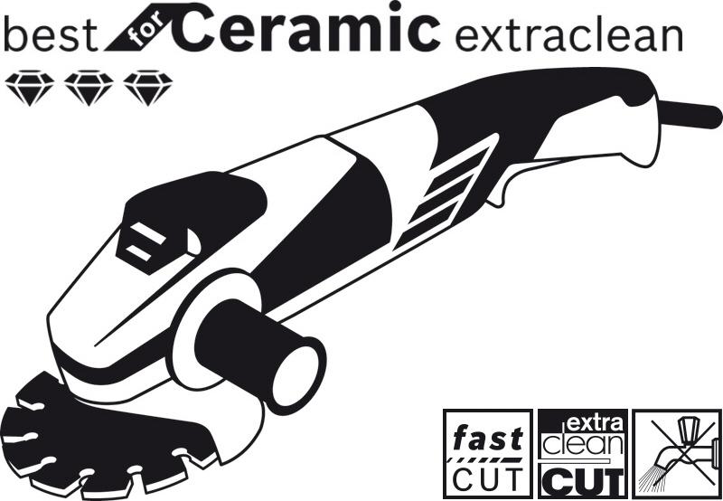 Disque diamant carrelage best for ceramic bosch meuleuse d for Couper carrelage avec meuleuse