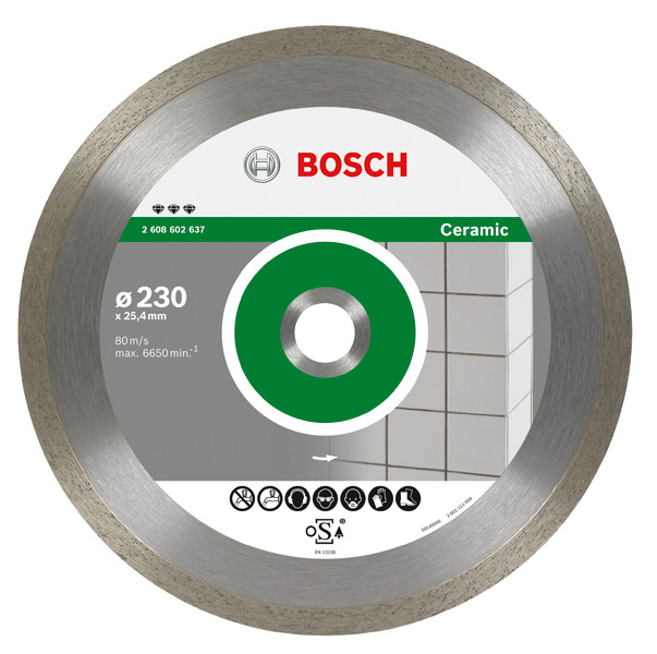 disque diamant coupe carrelage 216 180mm 350mm best for ceramic bosch