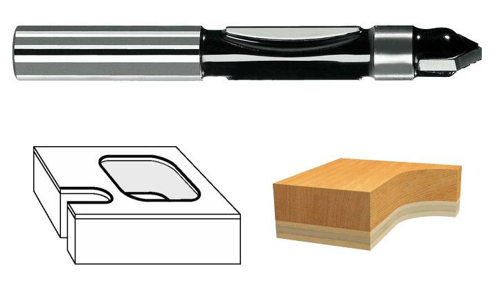 fraise copier bois 2608628371 bosch d fonceuse. Black Bedroom Furniture Sets. Home Design Ideas