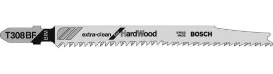 lame scie sauteuse t308bf bosch extra clean bois dur. Black Bedroom Furniture Sets. Home Design Ideas