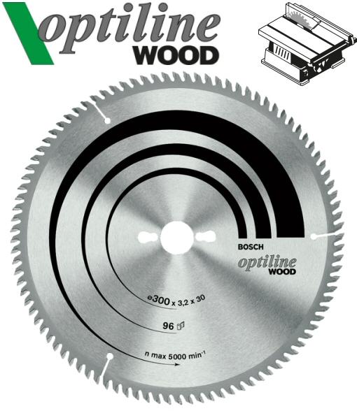Lame bosch optiline wood bois scie circulaire table - Scie circulaire de table bosch ...