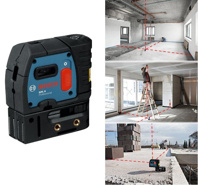 laser de chantier 5 points gpl 5 bosch laser point. Black Bedroom Furniture Sets. Home Design Ideas