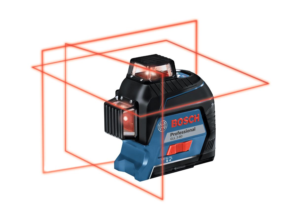 laser multi lignes gll3 80 tr pied bt 150 bosch. Black Bedroom Furniture Sets. Home Design Ideas