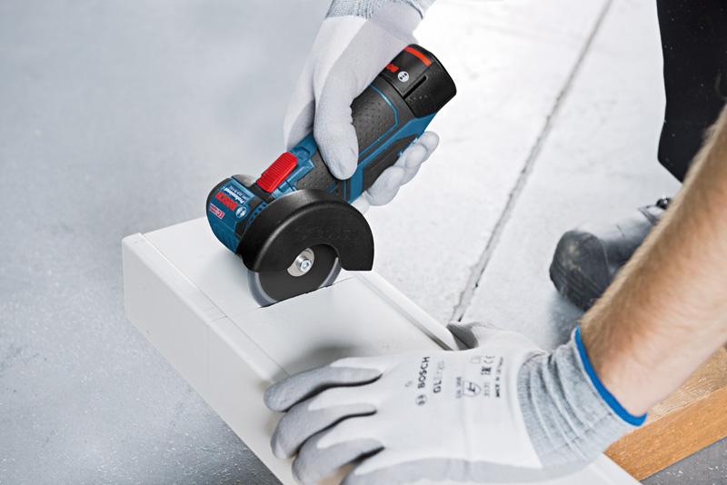 Meuleuse sans fil gws 12v 76 bosch batteries chargeur - Meuleuse d angle sans fil ...