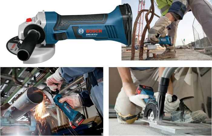 Meuleuse-angulaire-sans-fil GWS18-125V-LI Bosch solo 060193A308 10141d7885a0