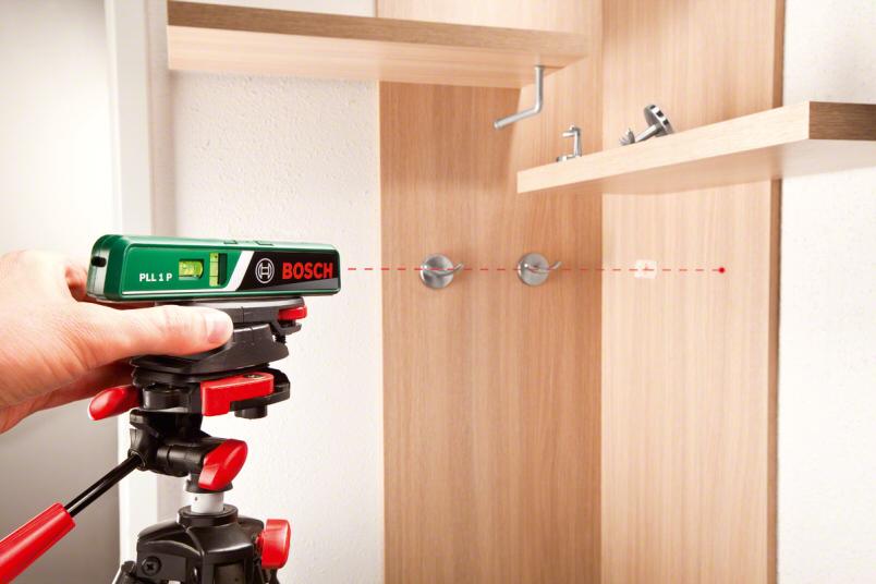 Pll 1 p bosch niveau bulle laser ligne laser point - Niveau laser bosch pll 360 ...