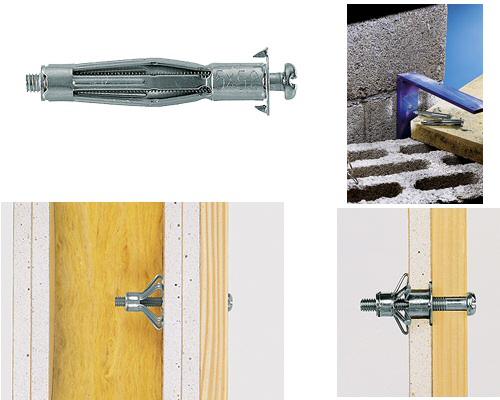 la clientèle d'abord super qualité vraie qualité Cheville métallique HM Fischer pour corps creux