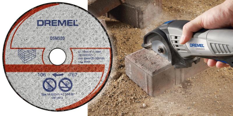 Dremel DSM520 2615s520ja maçonnerie coupe roue PK2 pour DSM20