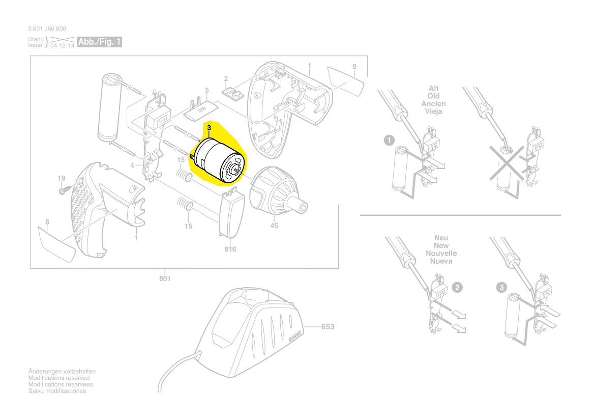 Moteur 2x carbone pour Bosch woh6710si//01 wov4800//02 wov4800//03 wov4800//06
