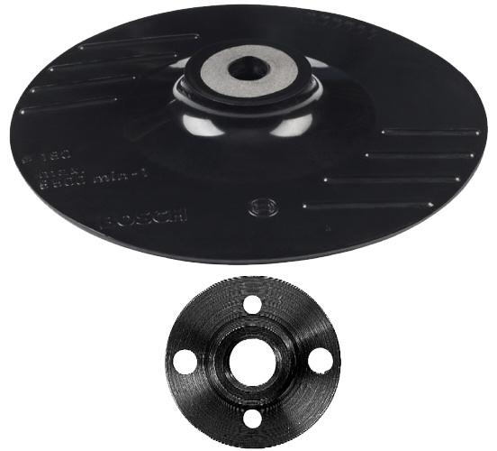 plateau de pon age meuleuse disque abrasif sur fibres bosch. Black Bedroom Furniture Sets. Home Design Ideas