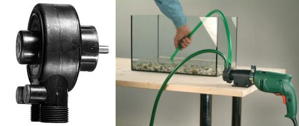 pompe eau perceuse bosch d bit 2500 l h. Black Bedroom Furniture Sets. Home Design Ideas