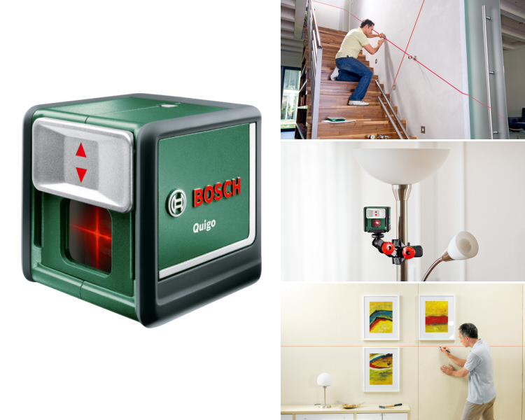 laser croix laser ligne quigo bosch instrument de mesure. Black Bedroom Furniture Sets. Home Design Ideas