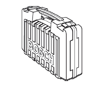 valise de transport pour d fonceuses bosch pof 1200 ae et pof 1400 ae. Black Bedroom Furniture Sets. Home Design Ideas